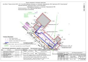 Пример чертежа проекта межевания