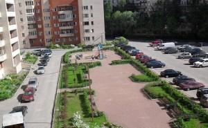 Парковка транспорта на придомовой территории