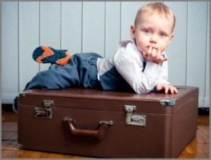 Можно ли прописать ребенка одного в квартиру?
