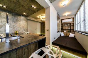 Присоединение лоджии к комнате – процедура и согласование