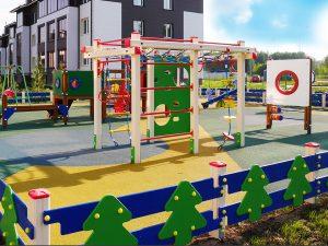Детская площадка на придомовой территории – требования по установке