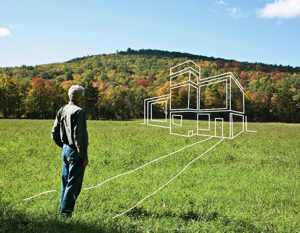 как оформить в собственность землю